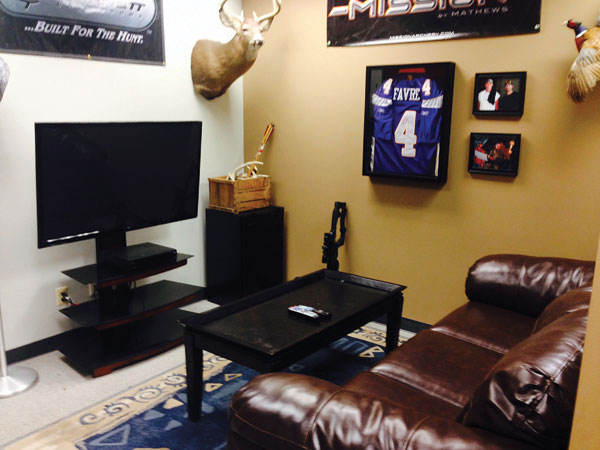 Customer Lounge at v2 Studios